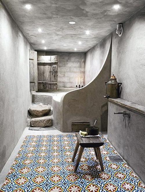 Interior de tadelakt