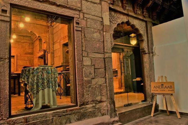 Seda y cachemira en la ciudad de Jaipur
