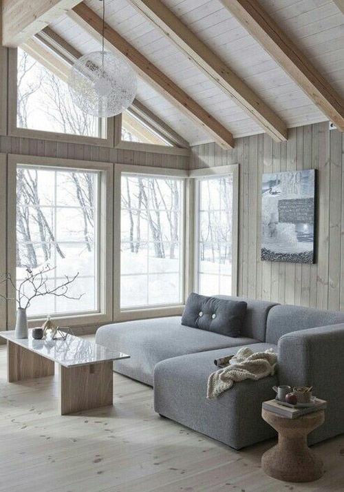 el mimimalismo en el diseño de interiores nórdicos
