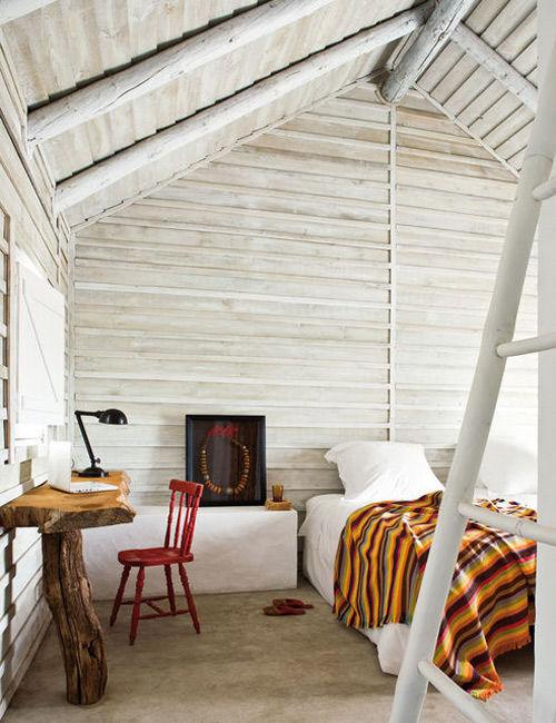 ideas de decoración con troncos