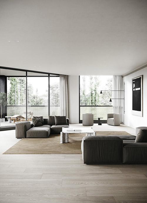 como decorar un salón moderno