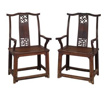 Sillas antiguas chinas