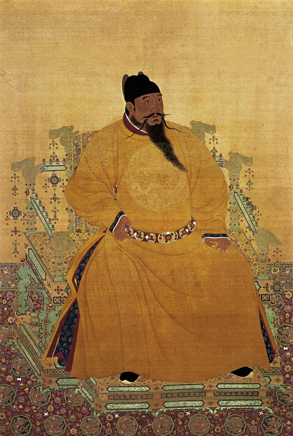 Emperador Yongle dinastía Ming