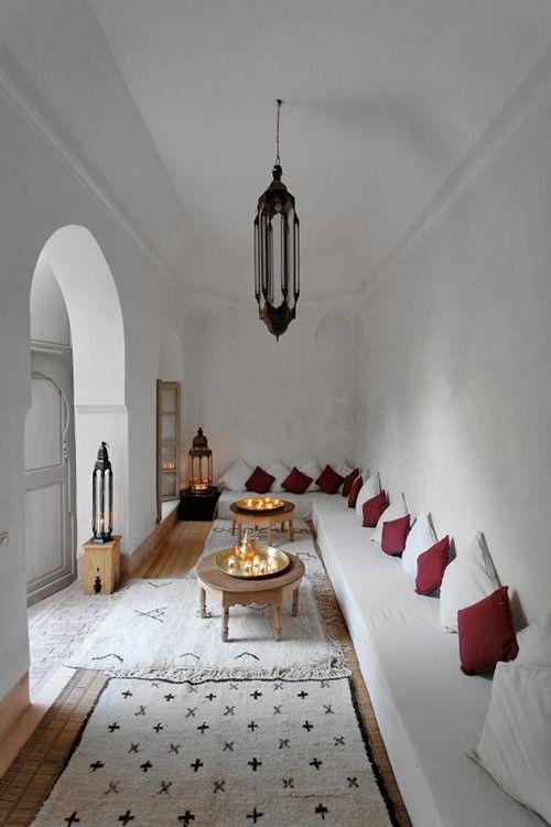 la lana como el principal material en la confección de alfombras en marruecos