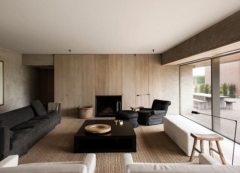 decoración minimalista de interiores