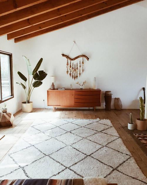 alfombras beni ouarain para decorar interiores