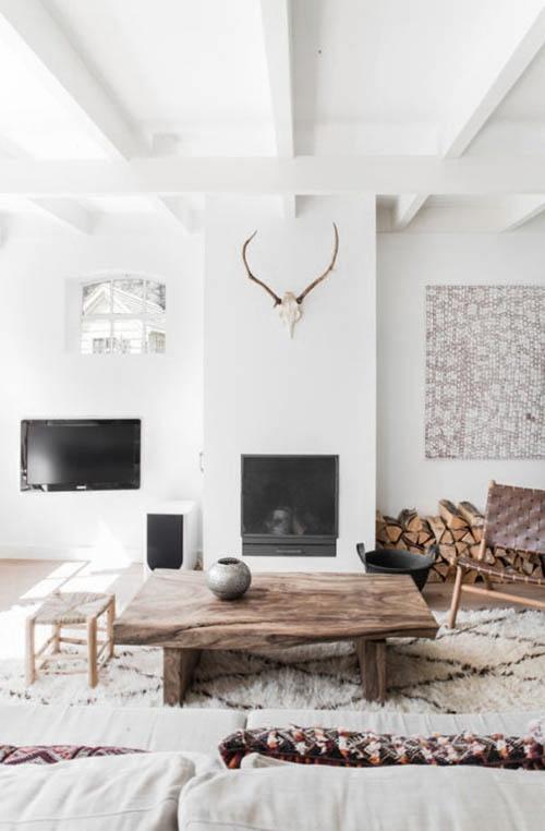 Decorar el hogar con una alfombra bereber beni ouarain