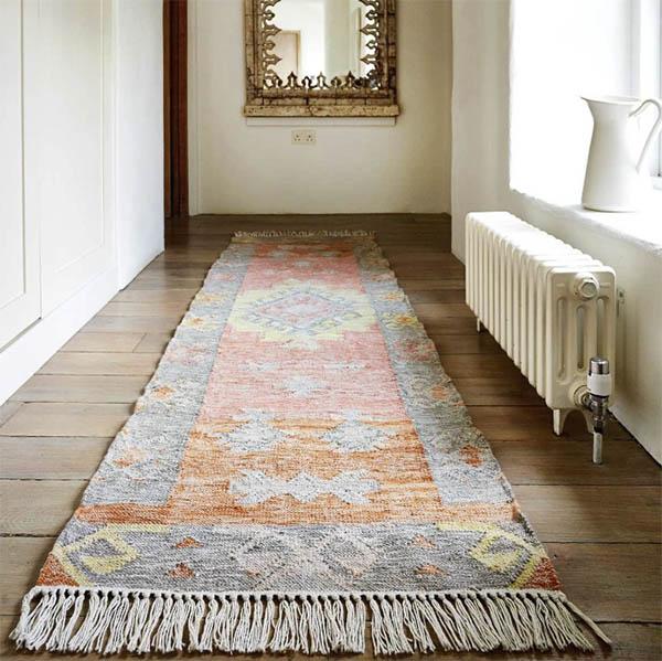 Cómo elegir una alfombra para el pasillo
