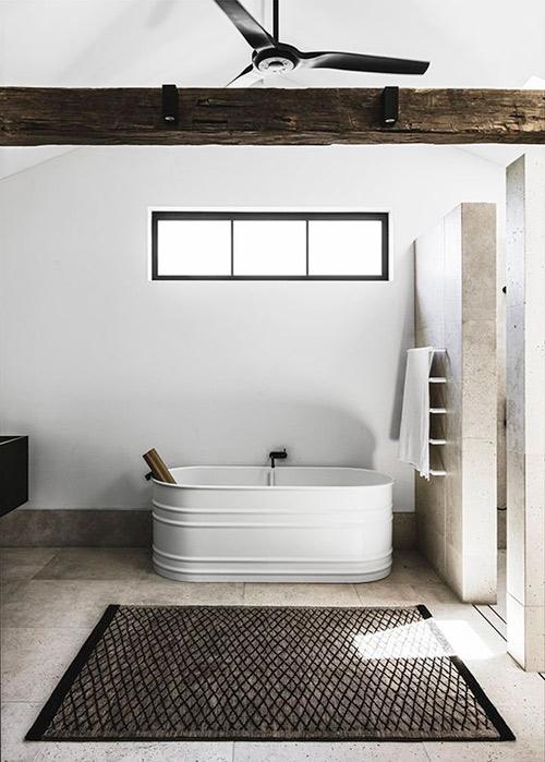 alfombras en el cuarto de baño