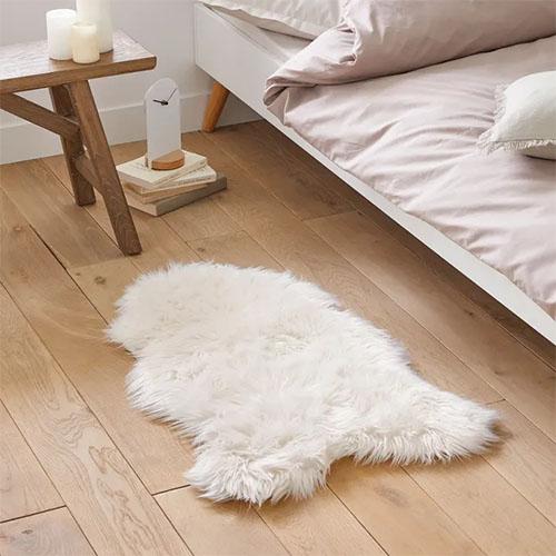 alfombra de habitación de pelo largo