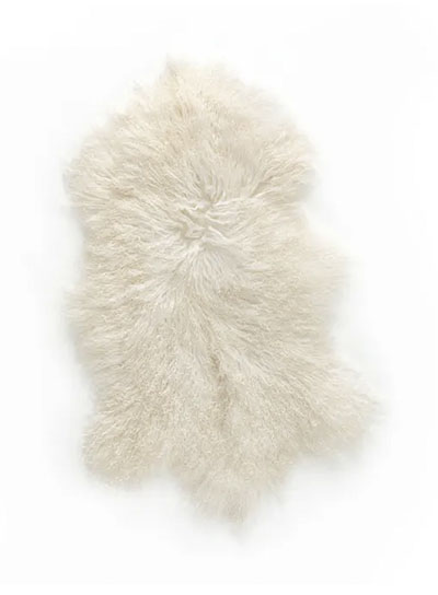 alfombra de piel