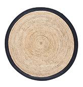alfombra fibra natural redonda