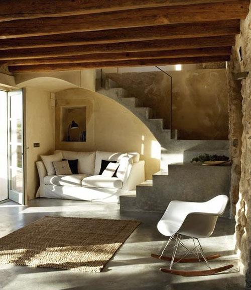 alfombras de fibras naturales para la entrada de casa
