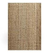 alfombra de yute natural