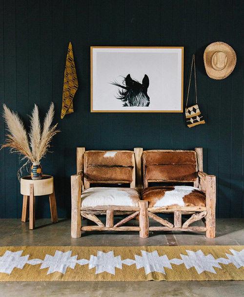 alfombras étnicas para decorar el hogar