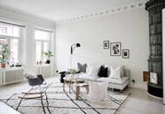 Decoración con alfombras beni ouarain