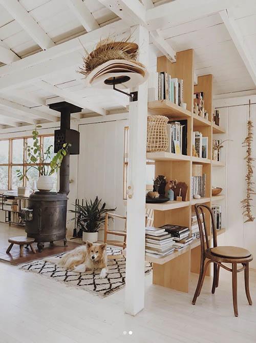 Cálidos textiles para decorar las cabañas y las casas de madera de la montaña