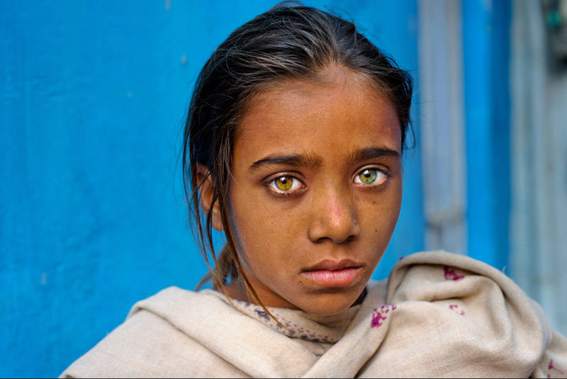 Niña en Pushkar, Rajasthan, India, 2012
