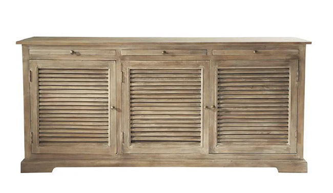 aparador de madera para el salón, comedor o cocina