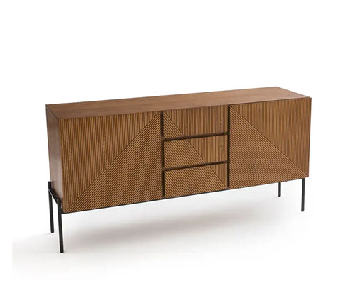 mesa aparador de estilo vintage de madera