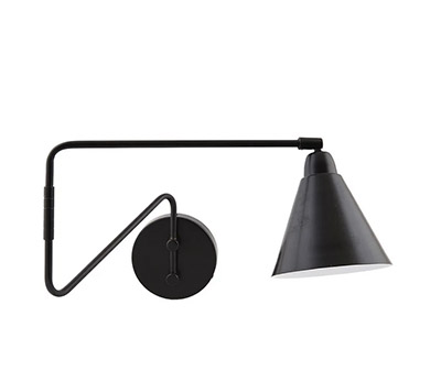 lampara de pared de estilo industrial