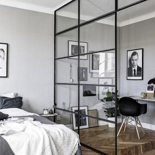 dormitorio y oficina en casa