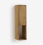 armario de pared de baño de madera