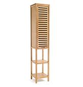 armario de baño de madera