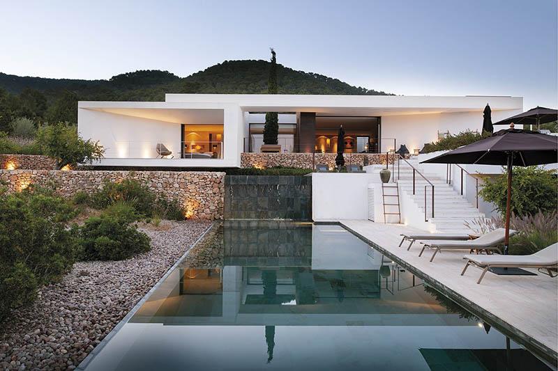 architectura mediterránea minimalista moderna