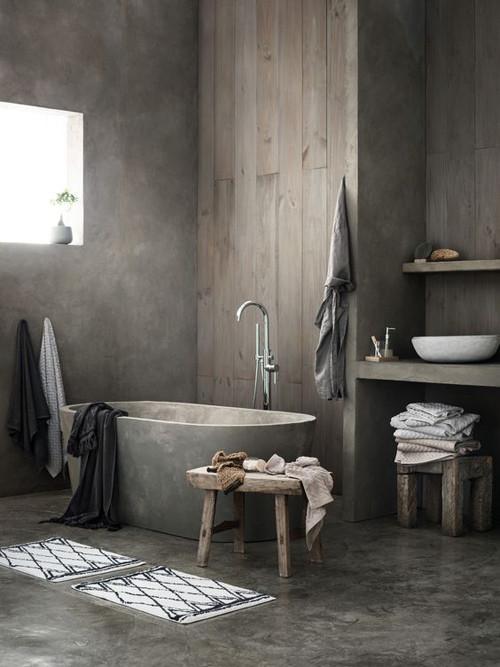 La decoración con bañeras exentas
