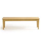 banco nórdico de madera