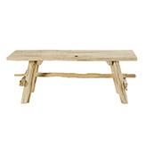 Banco de madera de teca