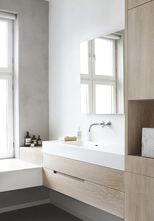 Cuarto de baño de diseño minimalista