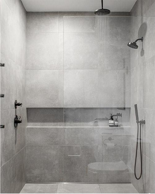 ideas para la decoración de baños minimalistas