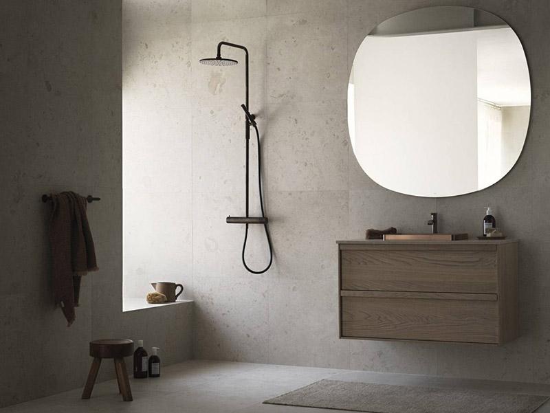 accesorios y muebles de baño de diseño minimalista moderno