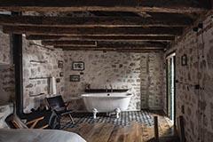 Baños de estilo rústico