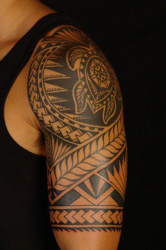 Tatuaje tribal inspirado en los Maories