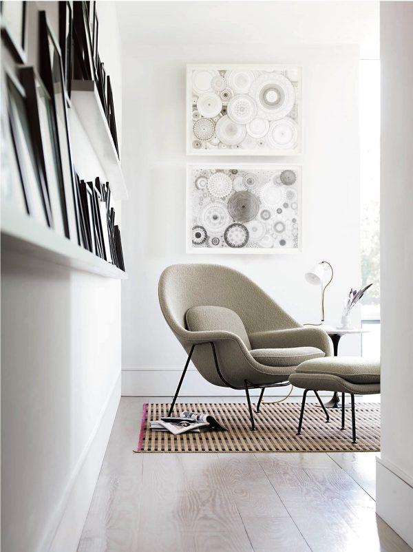 Butaca Womb de Eero Saarinen