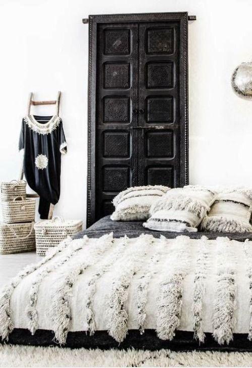 Cómo decorar una habitación con una manta handira