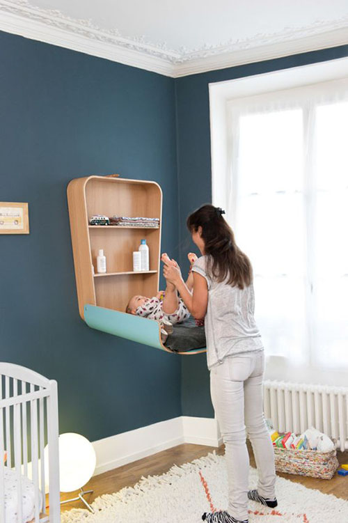 mobiliario infantil en los dormitorios de los niños