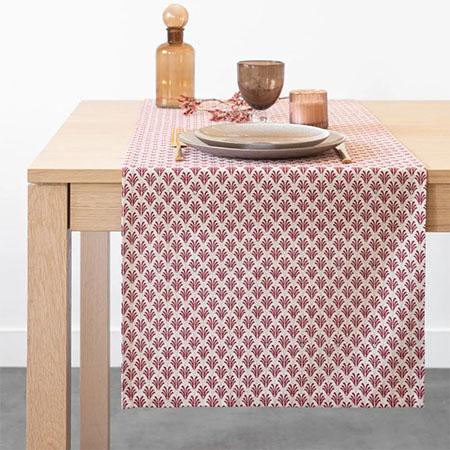 decoración de mesas con caminos de mesa
