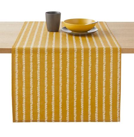 decoración del hogar con telas y manteles de algodón
