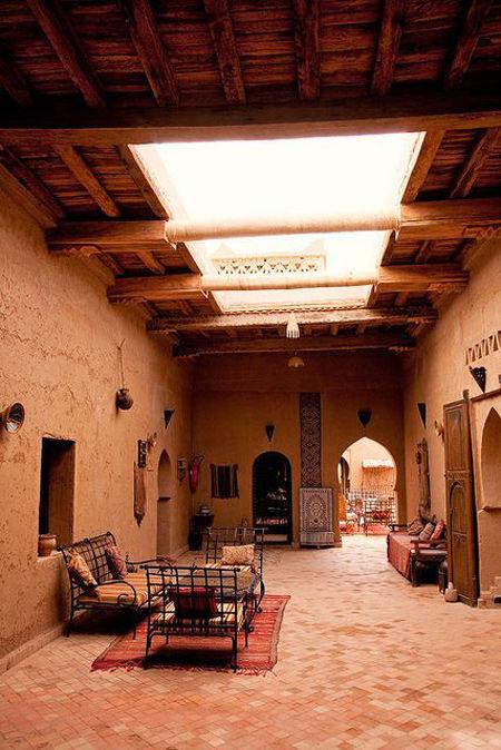 Decoración de una Kasbah