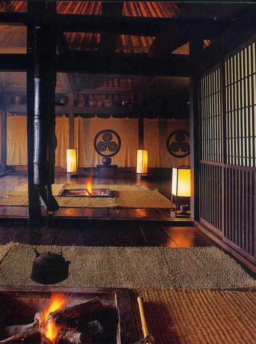 antigua casa de té japonesa