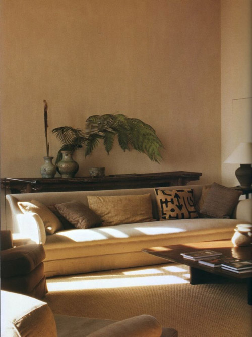 decoraciójn de interiores con colores africanos