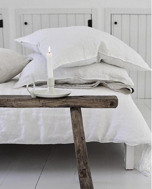 decoración nórdica de espacios en blanco