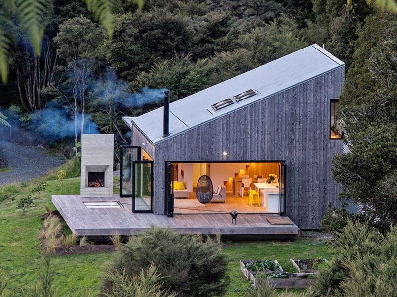 Casas r sticas modernas que te van a robar el coraz n for Interior de la casa de madera moderna