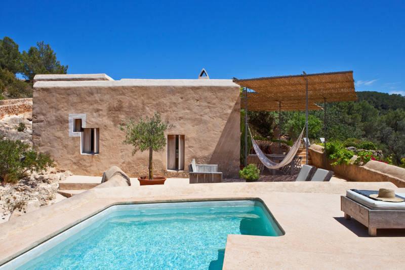 Casa típica mediterránea