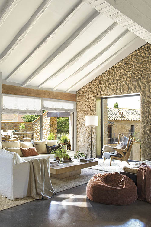 como decorar una casa de campo