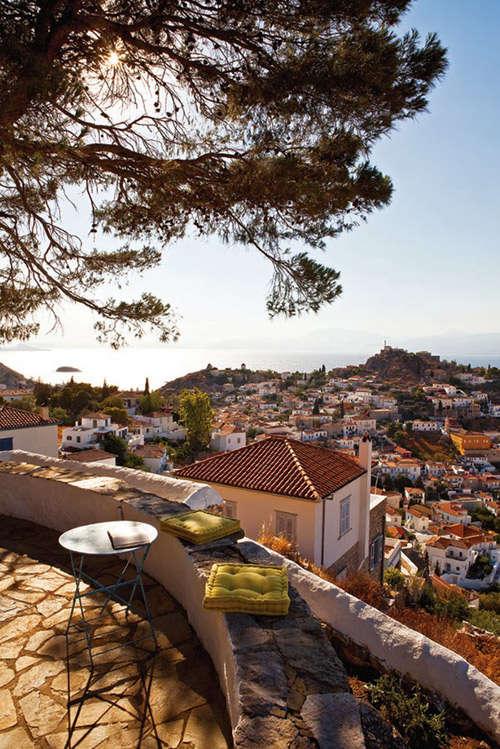 Una casa de vacaciones en grecia